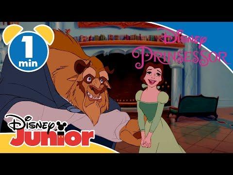 Skönheten och Odjuret | Odjuret visar upp biblioteket 📕- Disney Junior Sverige