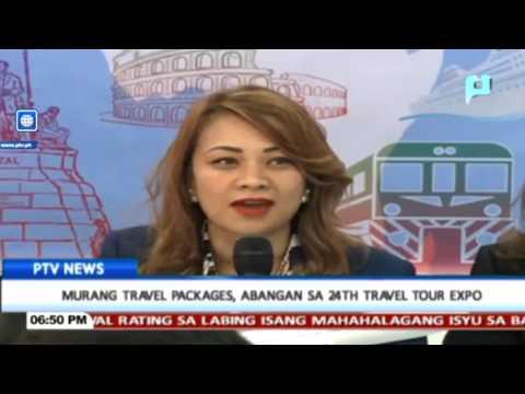 Murang travel packages, abangan sa 24th Travel Tour Expo