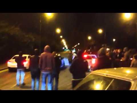 Magic round about bmw v Subaru Trafford park car cruise