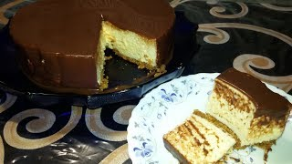 Торт Птичье молоко. Без выпечки.
