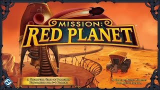 Let's Play Mission Red Planet - Full Board Game Play Through