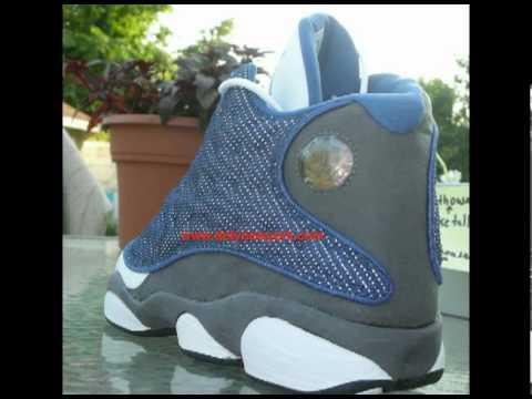 8f162b499338 Nike Air Jordan XIII 2004 Flint Retro Review - YouTube