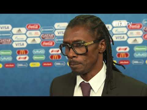 Aliou CISSE – Senegal - Final Draw Reaction