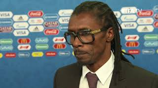 Aliou CISSE - Senegal - Final Draw Reaction