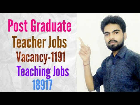 Post Graduate Teacher Jobs HP Recruitment 2017