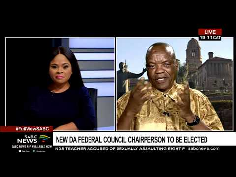 Previewing DA's Federal Council meeting with Prof. Lesiba Teffo
