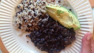 Caribbean Black Beans Recipe - EcoRico TV