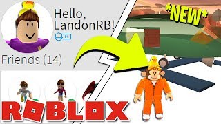 USING LANDONRB'S ACCOUNT FOR THE NEW ARMY HELICOPTER!! (Roblox Jailbreak 1 Year Update)
