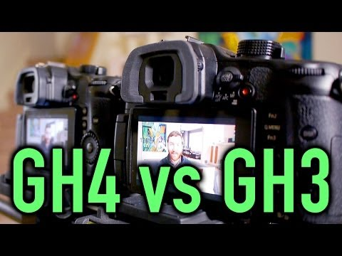 New Panasonic GH4 vs. GH3 Comparison [4K 1080, Moire, Rolling Shutter, Crop Factor, High ISO]