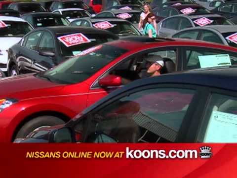 April 2011 Koons Falls Church Nissan TV Commercial