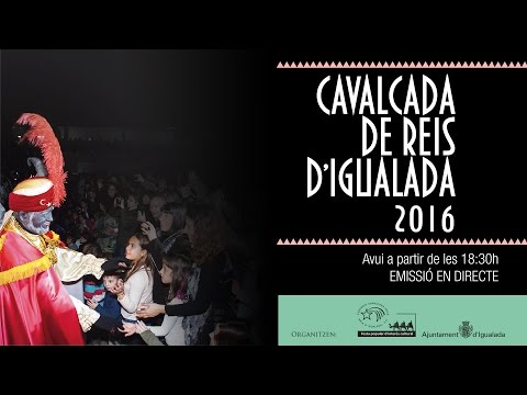 Cavalcada de Reis d'Igualada 2016