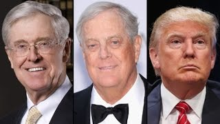 Trump attacks as rivals court Kochs, From YouTubeVideos