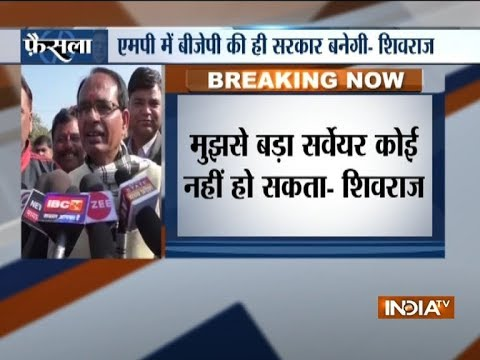 Shivraj Singh confident of BJP's victory in MP, says 'no one is bigger surveyor than me' Mp3