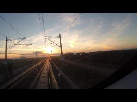 Leipzig - Erfurt Führerstandsmitfahrt auf der Hochgeschwindigkeitsstrecke [HD]