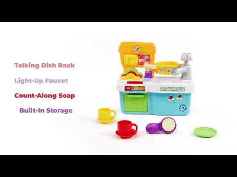 Scrub 'n Play Smart Sink  | Demo Video | LeapFrog