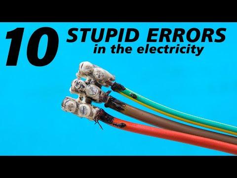 10 STUPID errors