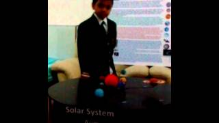 Solar System Working Model project for Kids