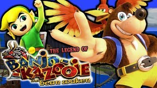 BANJO IN THE WIND WAKER UNIVERSE!! | Legend of Banjo Kazooie Bear Waker Gameplay!! (MOD Hack)