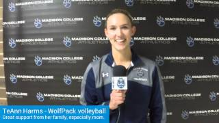 TeAnn Harms leads WolfPack to big win