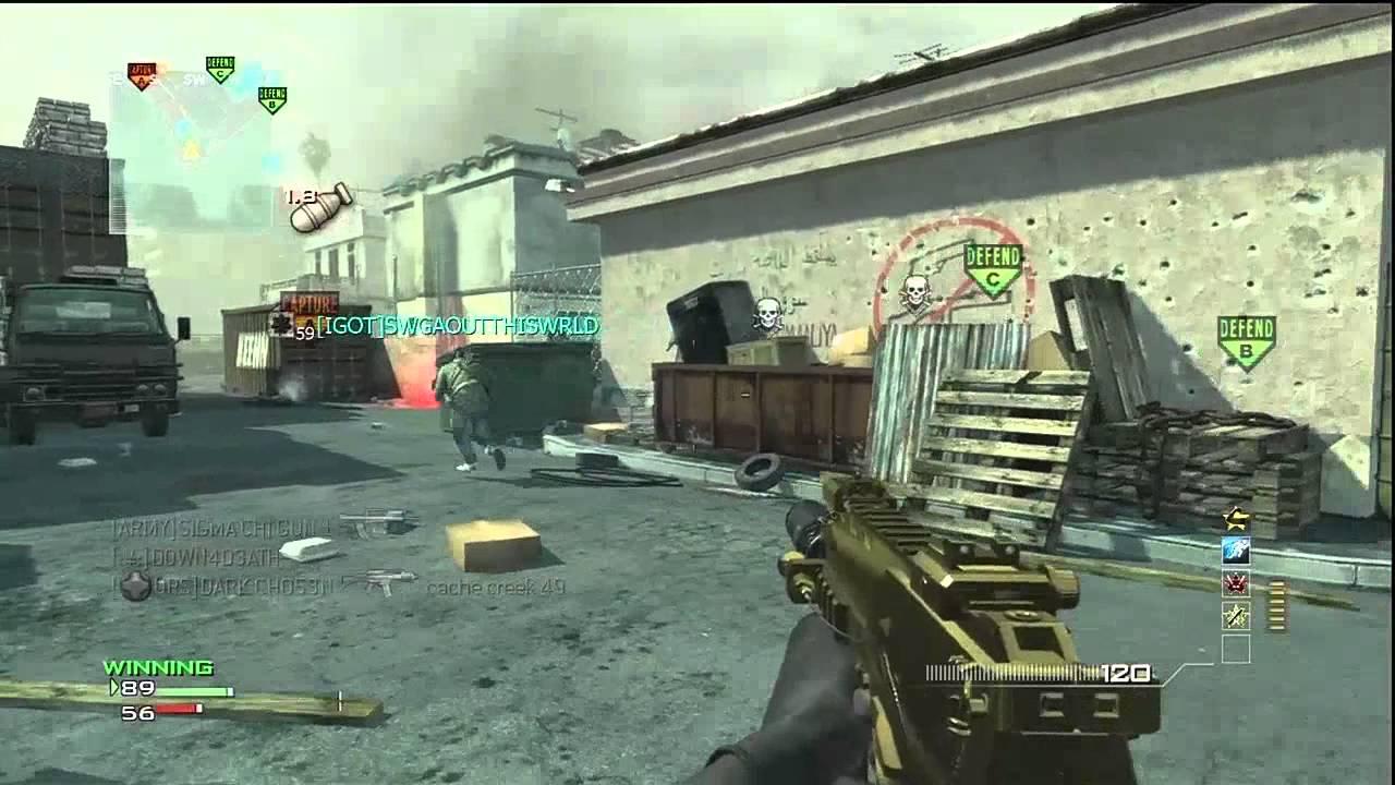 Modern Warfare 3, Golden MP7 M O A B 35 gun kill streak