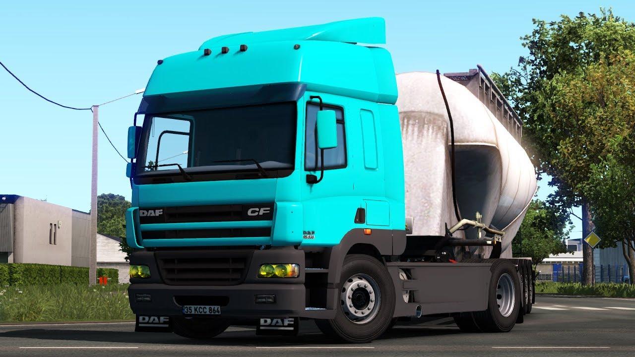 DAF CF 1 35 x | ETS2 mods | Euro truck simulator 2 mods