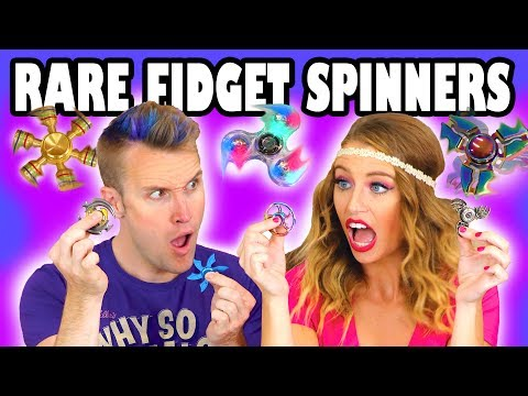 Unboxing Rare Fidget Spinners with Fidget Spinner Tricks . Totally TV