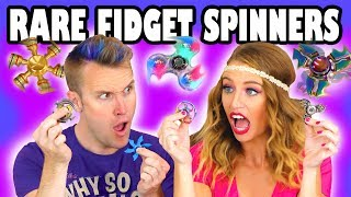 vuclip Unboxing Rare Fidget Spinners with Fidget Spinner Tricks . Totally TV
