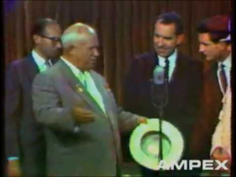 The Kitchen Debate (Nixon and Khrushchev, 1959)  Part I of II