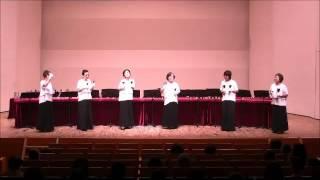 ハンドベルコンサート2016in日本橋公会堂でのシャイニーベルさんの...