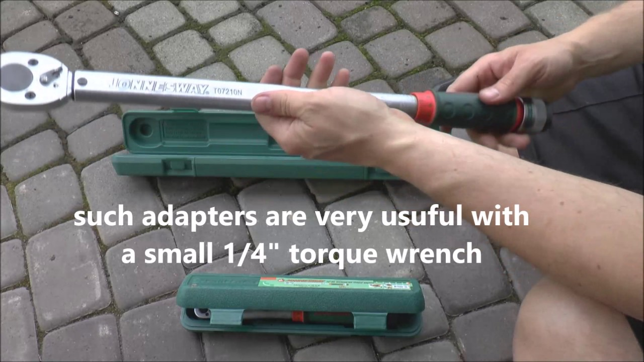 Why Do We Need A 14 To 12 Socket Adapter Ratchet Torque Wrench