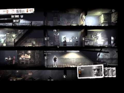 Let's Play This War Of Mine - Clearing Out The House & Getting A Rhythm - 8