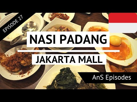 Jakarta Vlog - Part 1 - NASI PADANG, PLAZA INDONESIA, GRAND INDONESIA (EP 27)