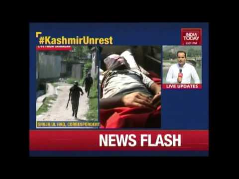 24 Year Old Killed After Tear Gas Canister Hits Head During Clashes In Kashmir