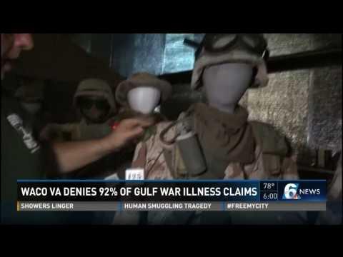 Waco VA denies 92% of Gulf War Illness claims