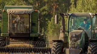 Żniwa/Harvest 2016 - Fendt 716 Vario & 5220E