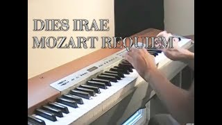 Dies irae Piano - Mozart Requiem (Sheet+lyrics)