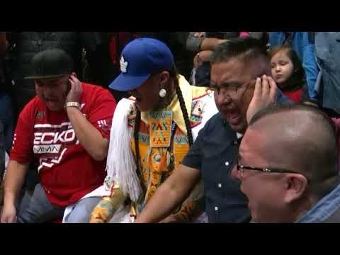 Northern Cree - Black Hills Pow Wow  Friday Family Four