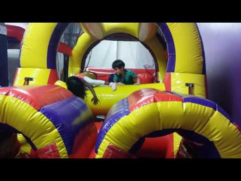 Avika at bounceu party omaha 21st may 2016