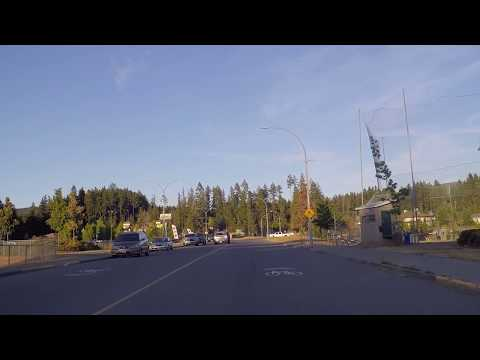 Port Alberni BC Canada - Houses/Property & Life - Driving Around Town