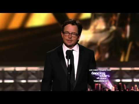 Michael J. Fox - Steady as a rock! Emmys 2012 Tribute