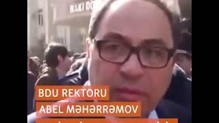 Abel Məhərrəmov BDU-dan çıxarıldı - İlham Əliyev sərəncam verdi