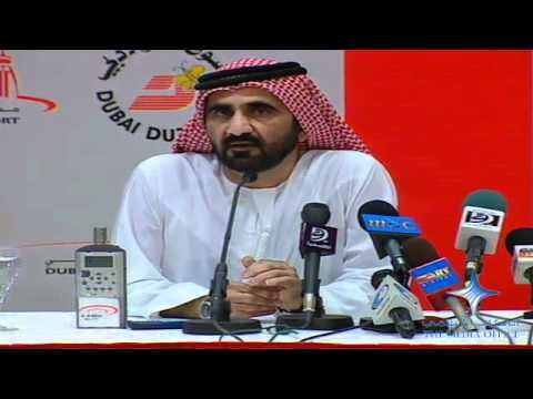Mohammed bin Rashid's press conference at Dubai Air Show