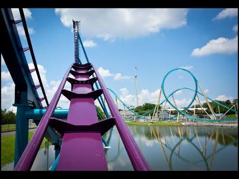 Every Coaster at SeaWorld Orlando | SeaWorld Vlog June 2018
