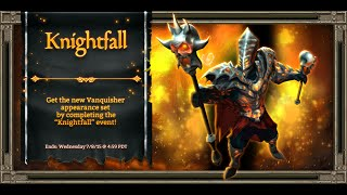 KINGS ROAD #7 - NEW EVENT! KNIGHTFALL [COOP SILVER X2]