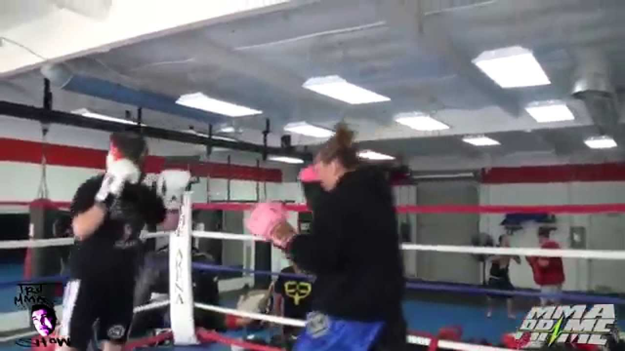 Cris Cyborg KO Male Fighter | Doovi
