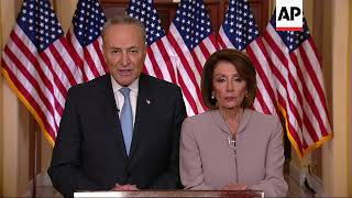 Democrats to Trump: End this shutdown now