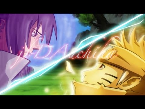 Sasuke Eternal Mangekyou Sharingan Vs Naruto Sage Mode