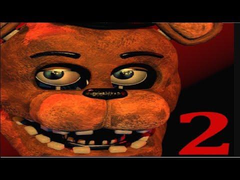 ПЯТЬ НОЧЕЙ С ФРЕДДИ 2 –Игра мультик не для детей   Five Nights at Freddy's #Мобильные игры