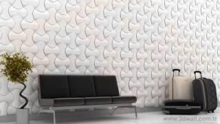 3d wall spline duvar kaplama paneli