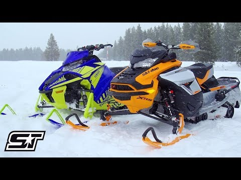 2019 4-Stroke Turbo Comparison: Yamaha VS Ski-Doo